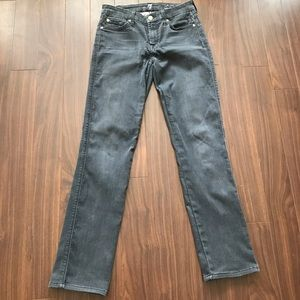 7 for all Mankind Kimmie straight jeans size 26
